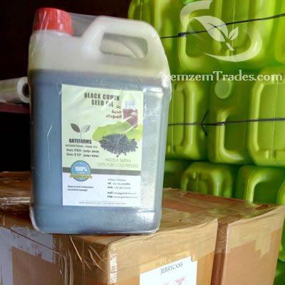 Ethiopian Black seed oil 5 liter