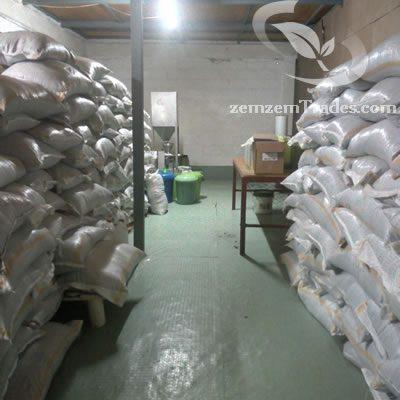 Stock of raw Ethiopian black seeds